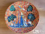 La Chasse a la Licorne Robert Haviland & C. Parlon Lady and the Unicorn Plate