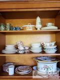 Assorted China and Glassware