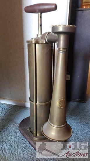 20th Century Kockums MLK Verkstad Brass Fog Horn FMV $195.00