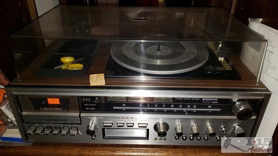 Sanyo Cassette Record Player, Penncrest Reel to Reel Tape Recorder and More