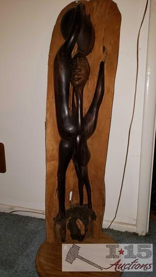 African Ebony Carving
