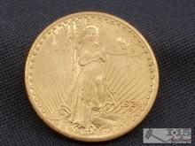 1924 Saint Gaudens .900 Gold Coin, 33.4g