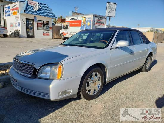 2005 Cadillac DHS with Northstar V8 Current Smog!! See Video!