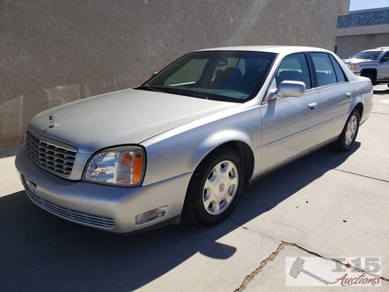 2002 Cadillac DeVille, Northstar V8, Current Smog! See Video!