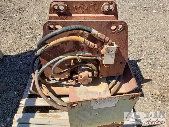 Hydraulic Compaction Plate