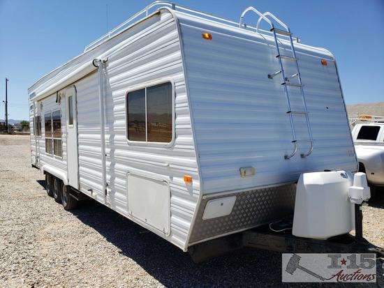 THIS IS A 2005!!!! Weekend Warrior 30' Toy Hauler, Model FS3000, New Video!!