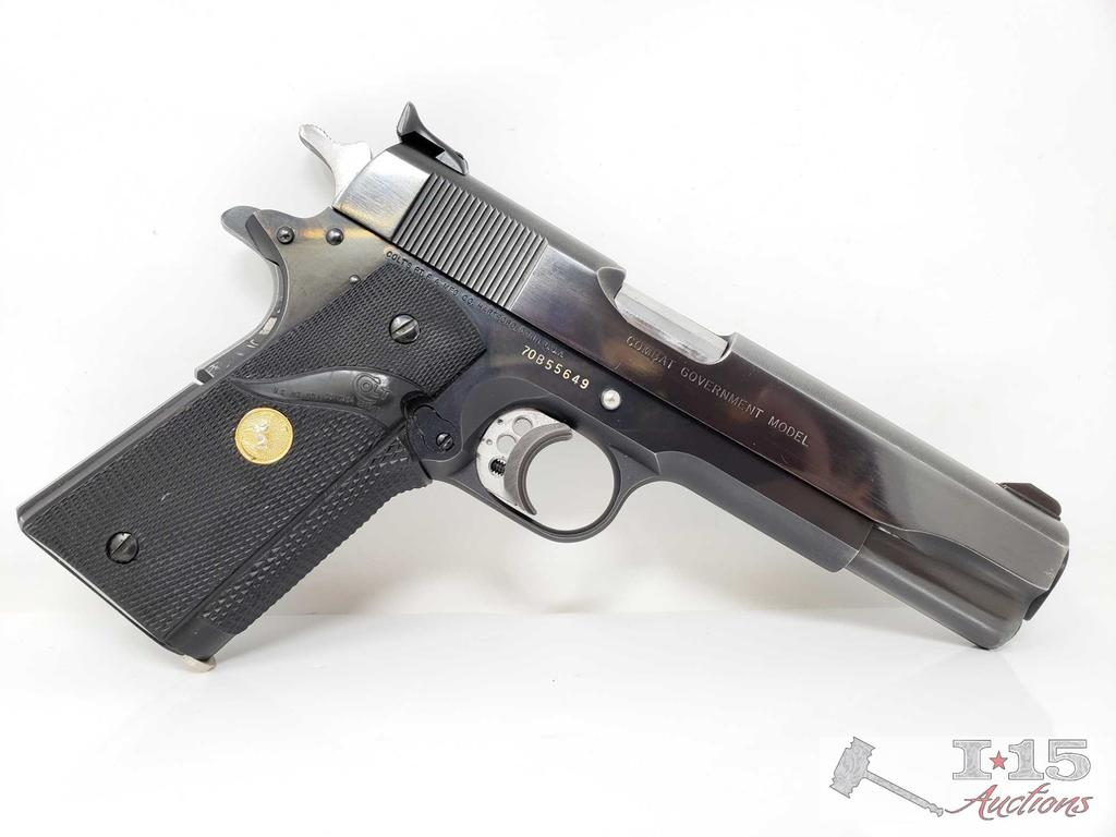 Colt 1911 Combat Government Model .45 with Magazine