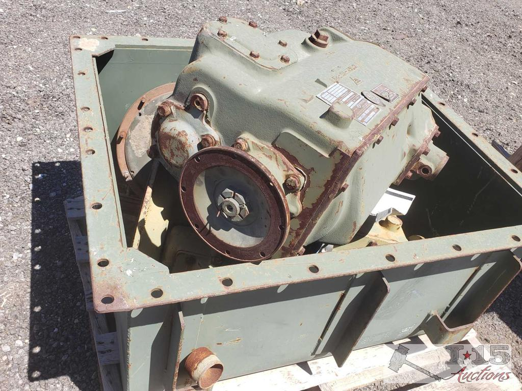 Transport Case with Transmission Parts for M-54 6X6