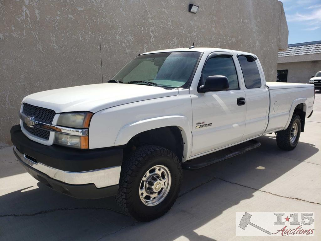 2004 Chevy Silverado 2500HD LT Duramax Long Bed 2WD, CURRENT SMOG!! SEE VIDEO!!
