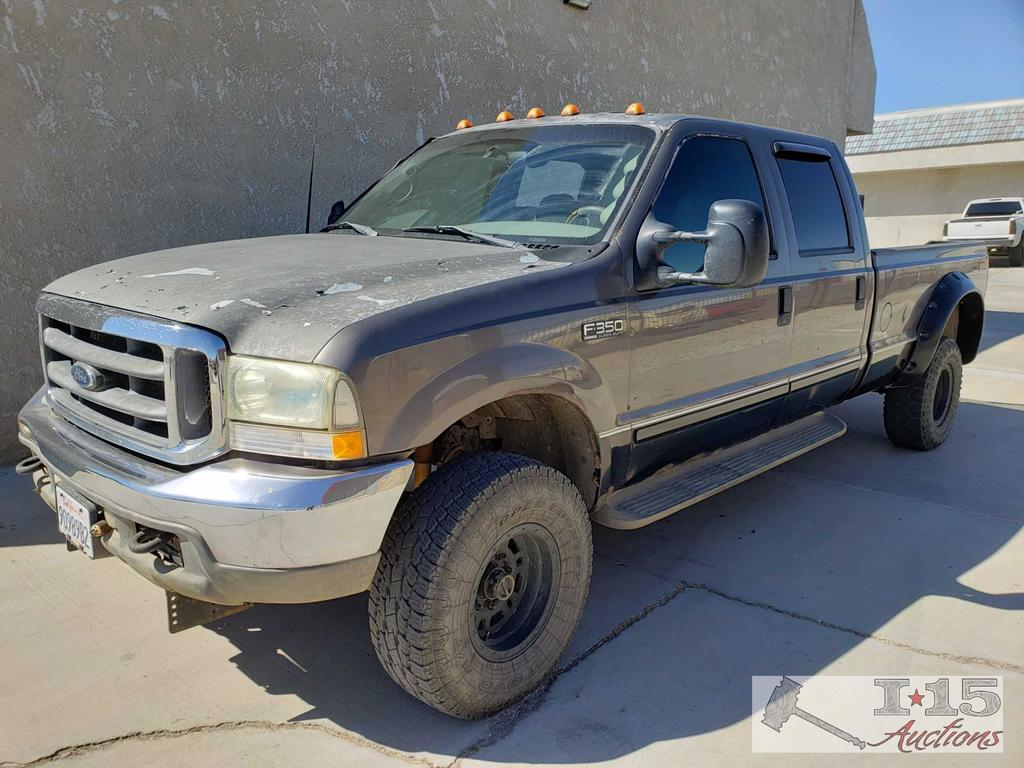 2002 Ford F-350 Super Duty 7.3l Powerstroke. CURRENT SMOG!! SEE VIDEO!!