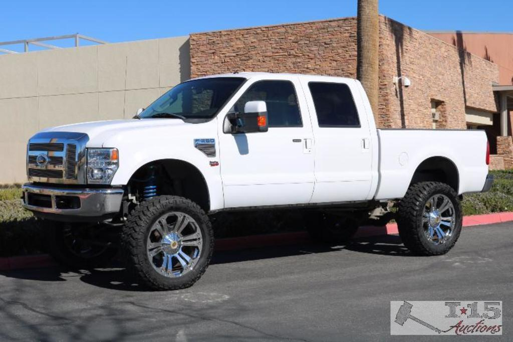 2008 Ford F-250 with 6.4l Powerstroke Diesel 4x4 with brand new engine, CURRENT SMOG!! See Video!