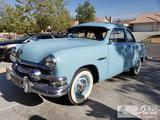 1951 Ford Deluxe Club Coupe with Flathead V8, See Video!
