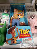 Think Way Toy Story Pull-String Talking Woody, and other Toy Story Plushes