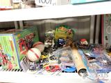Toys, New in Box Play Stone Presto Molder, Star Fox and Gaia Super Nintendo Games, and More