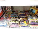 Unopened Batman and Power Rangers Action Figures, Batman Pez and More