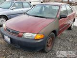 1998 Mazda Protege Red, Dealer or Out of State Only!! Running, See Video!