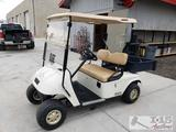 EZGO 48 Volt Electric Golf Cart with Charger, See Video