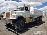 1963 Diamond T M-54 5 Ton 6X6 4,000 Gallon Water Truck, See Video!!