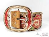 Custom Kippy's Belt with Swarovski crystals
