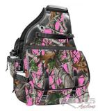 Pink Real Oak Cordura Nylon Insulated Horn Bag
