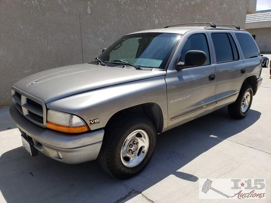 1999 Dodge Durango, CURRENT SMOG!! See Video!