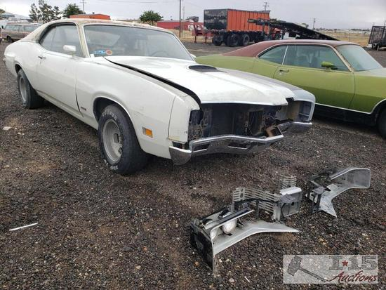 1970 Mercury Cyclone White