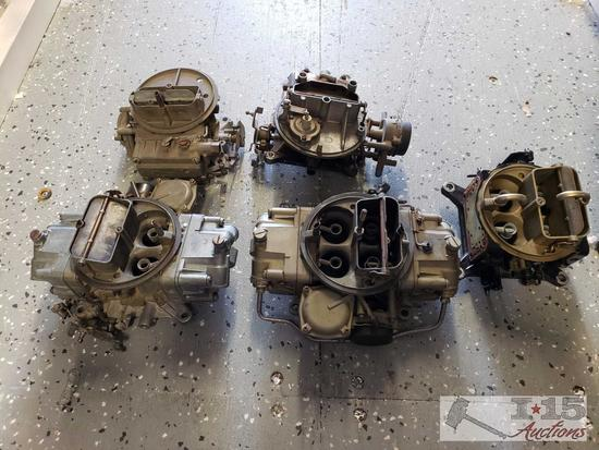 Carburetors, NOS/Weber Jets, Holley Fuel Pumps and Various Fuel System Parts