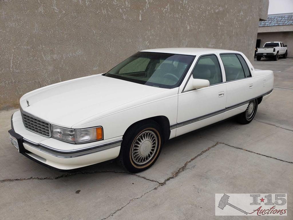 1995 Cadillac Deville (Current smog)