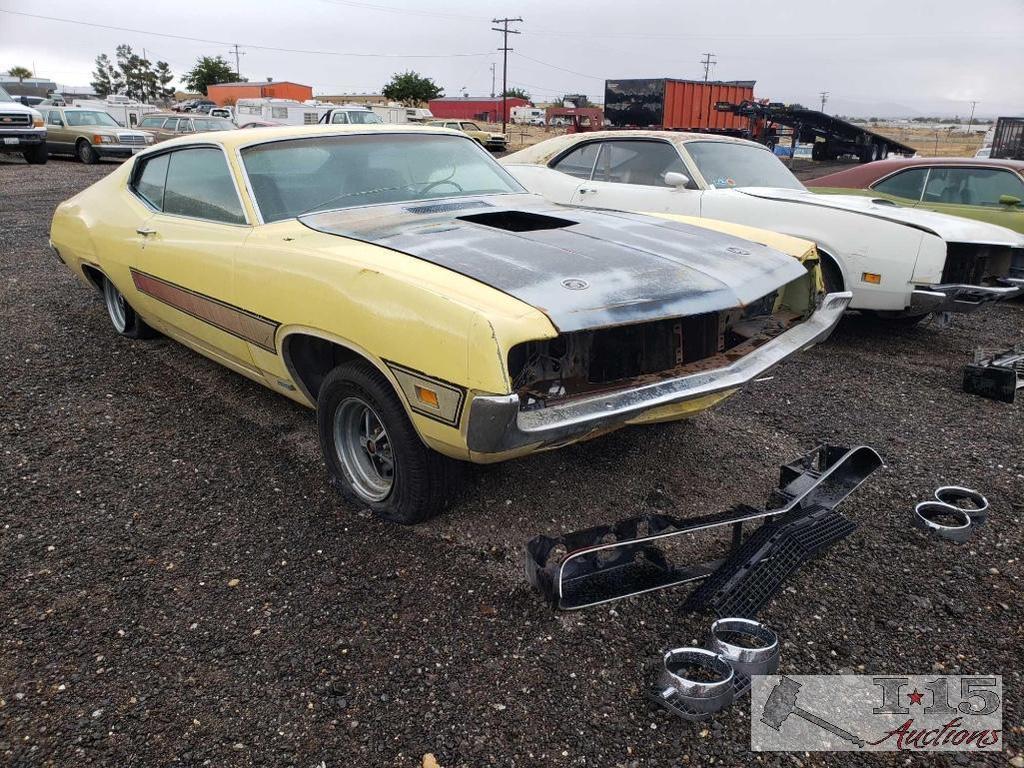 1970 Ford Fairlane Torino GT Cobra Yellow