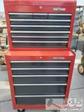 Red Craftsman Roll Away Tool Box / Tools.