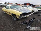 1970 Ford Fairlane Torino GT Cobra Yellow with Marti Report and Keys!