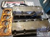 Pair of Brad Anderson Enterprises Valve Covers, with 6 Copper Gaskets