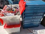 2 Storage Boxes and 2 Totes with Earl's Fittings, Steel Braided Hoses, Tanks, and More