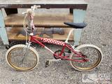 Vintage 1980 1st Gen GJS BMX Bike, Serial No. 692, 20