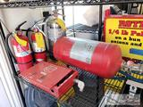 Fire Extinguishers, Buckeye, Amerex, First Alert