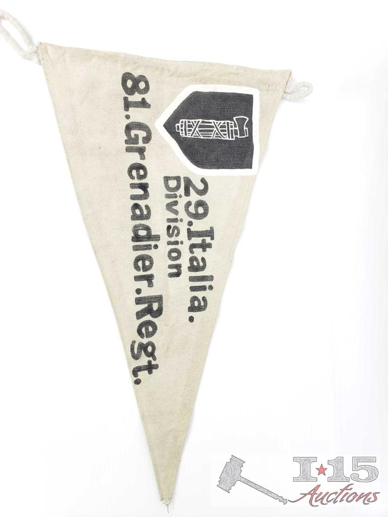 Lot: German WWII Waffen SS 29 th Italia Division 81 st