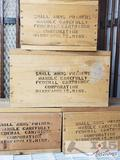 Small Arms Primers Empty Wooden Boxes