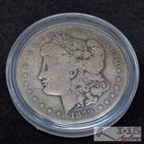 1879 Morgan Silver Dollar, New Orleans