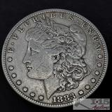1883 Morgan Silver Dollar, Philadelphia Mint