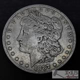 1887 Morgan Silver Dollar, New Orleans Mint