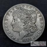 1888 Morgan Silver Dollar, New Orleans Mint