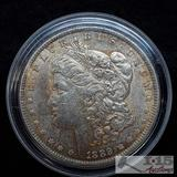 1889 Morgan Silver Dollar, Philadelphia Mint