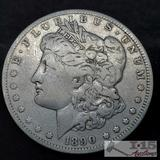 1890 Morgam Silver Dollar, New Orleans Mint