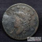 1830 One Cent Coin