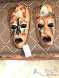 Hand Carved Wooden Masks