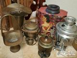 Vintage Teapots, Metal Pails and More