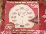 Corvette Clock in Box