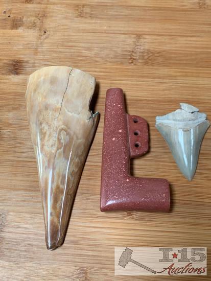 Prehistoric Mastodon Ivory and more