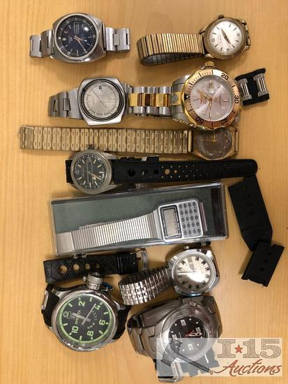 Misc watches. Invicta, Freestyle and more