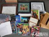 Signed Spawn Comic Books, Framed Artwork, Signed Action Figures, and More